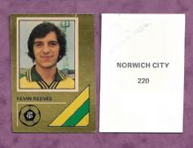 Norwich City Kevin Reeves 220